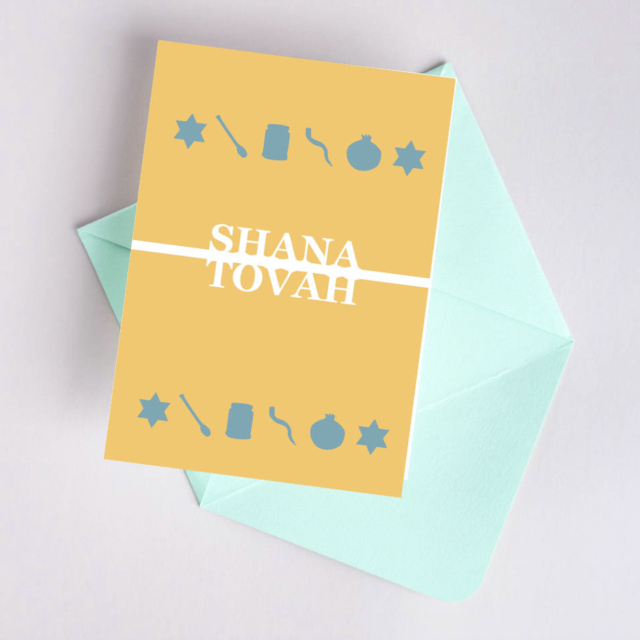 Shana Tova Greeting card